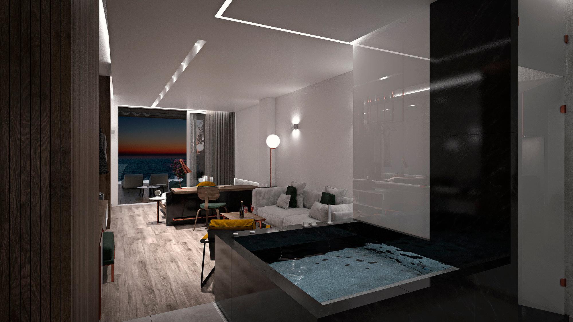 Dyo Suites Luxury Boutique Hotel Rethymno Crete - Platinum Suite